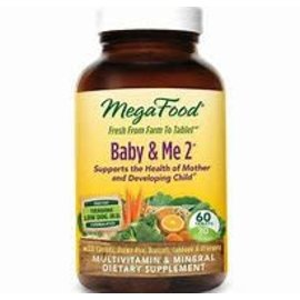 Mega Food Baby and me 2 60 tablets