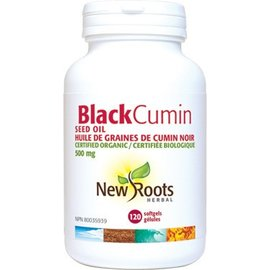 New Roots Black Cumin 120 softgels