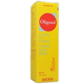 Labactal Oligosol Copper/Gold/Silver 60ml