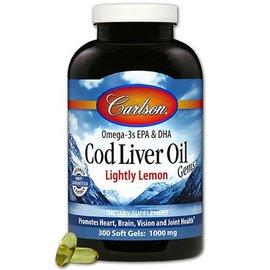 Carlson Cod Liver Oil 300 S Gells