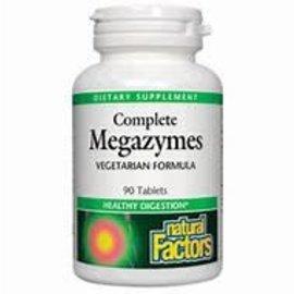Natural Factors Complete Megazymes 90/TAB