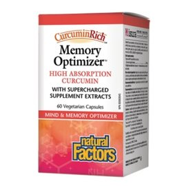 Natural Factors CurcuminRich Memory optimizer 30mg 60vcaps