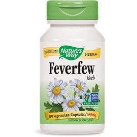 Nature's Way Feverfew 100 Capsules