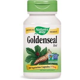 Nature's Way Goldenseal 100 capsules 570mg
