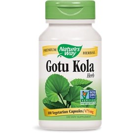 Nature's Way Gotu Kola 475mg 100caps
