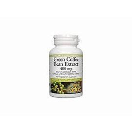Natural Factors Green Coffee Bean Extract 400 mg 30/VCAP