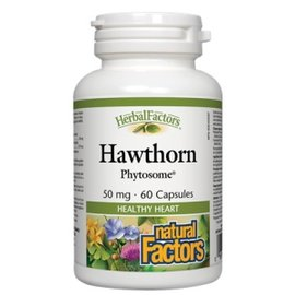 Natural Factors Hawthorn Phytosome 60 capsules 50mg