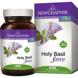 New Chapter Holy Basil force 60caps