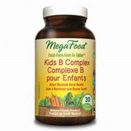 Mega Food Kids B Complex 30 tablets