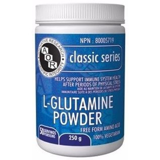 AOR L-Glutamine powder 454g(90 servings)