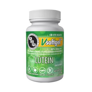 AOR Lutein 60 VCaps 40mg