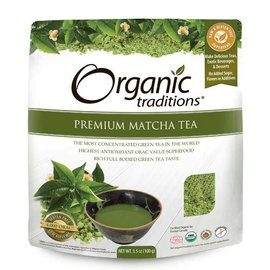 Organic Traditions Matcha Tea, Premium100g