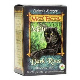 Mate Factor Yerba Mate Dark Roast Tea 20 bags