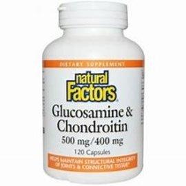 Natural Factors GLS & Chondroitin 500 mg / 400 mg 120/CAP