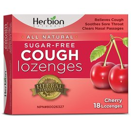 Herbion Canada Herbion Sugar Free Cherry Cough Loz-18 lozenges