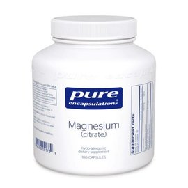 Pure Encapsulations magnesium (citrate) 180 vcaps