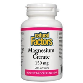 Natural Factors Magnesium Citrate 150mg 90caps