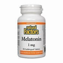 Natural Factors Melatonin 1mg 90's