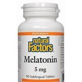 Natural Factors Melatonin 5mg 90 sublingual tabs
