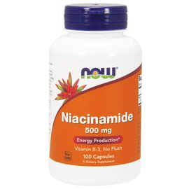 Now Niacinamide 500mg NOW foods- 100caps