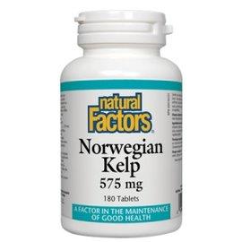 Natural Factors Norwegian Kelp 180 Tabs