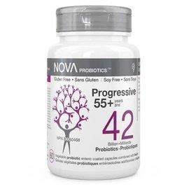 Nova Nova Probiotics progressive 55+ 42bil 60gels
