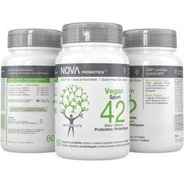 Nova Nova Probiotics Vegan Sport 42bil 60gels