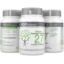 Nova Nova Probiotics vegan women 27bil 60gels