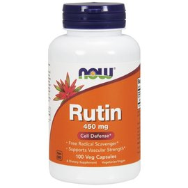 Now NOW Rutin 450mg- 100caps