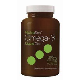 NutraSea Omega 3 Liquid Gels 1250 mg 60 Sgel