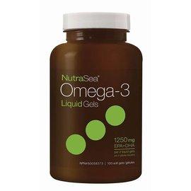 NutraSea Omega 3 Liquid gels 1250mg 100 Sgel