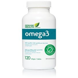 Genuine Health Omega 3+Extra Strength 120 Sgel