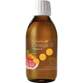 NutraSea Omega-3 + Vitamin D 1250mg EPA+DHA 200ml