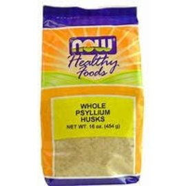 Now Psyllium Husks Whole (bag) 454g