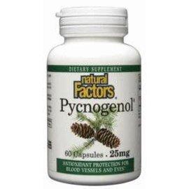 Natural Factors Pycnogenol Pine Bark 25 mg 60/CAP