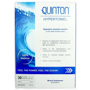 Actimar Quinton Hypertonic 30 ampoules