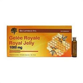 Bio Lorenco inc Royal jelly 1000mg drinkable ampoules 20x10ml