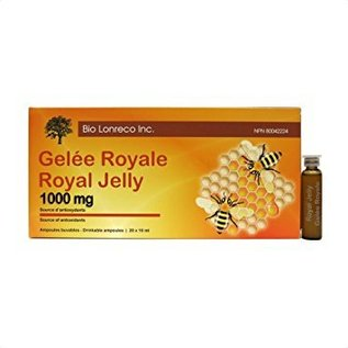 Bio Lorenco inc Royal jelly 1000mg drinkable ampoules 20x10ml