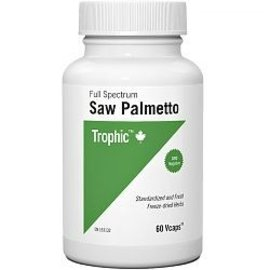 Trophic Saw Palmetto 60 Vcaps