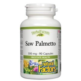 Natural Factors Saw Palmetto 90 softgels