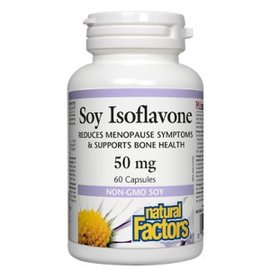 Natural Factors Soy Isoflavone 50 mg 60's