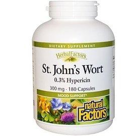 Natural Factors St. John s Wort 0.3% Hypericin 300mg 90caps