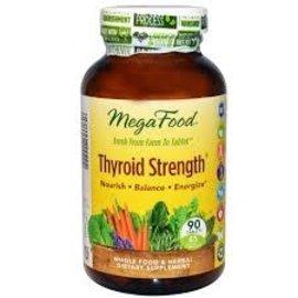 Mega Food Thyroid Strength 30 Tab