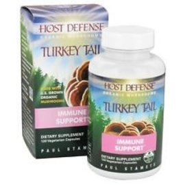 Host Defense Turkey Tail Immune support 60vcaps