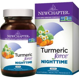 New Chapter Turmeric force Nighttime 48 capsules