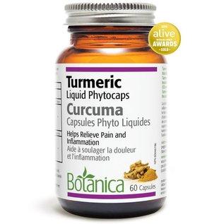 Botanica Turmeric Liquid Phytocaps 60