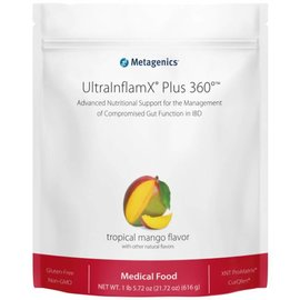 Metagenics UltraInflamX Plus 360 616gr Mango flavor