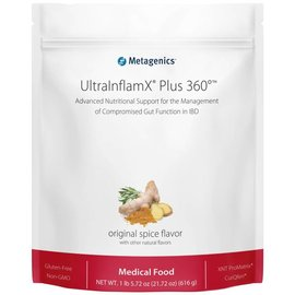 Metagenics UltraInflamX Plus 360 616gr Original spice flavor
