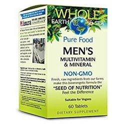 Whole Earth And Sea Whole Earth & Sea Men's Multivitamin & Mineral 60/TAB