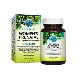 Whole Earth And Sea Women's Prenatal 60 tablets
